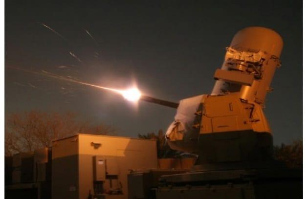 Arriva il laser anti-aereo