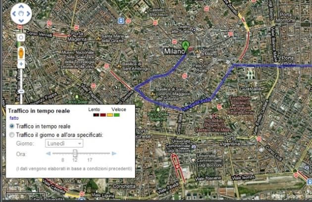 Google rinnova le mappe, con le info sul traffico