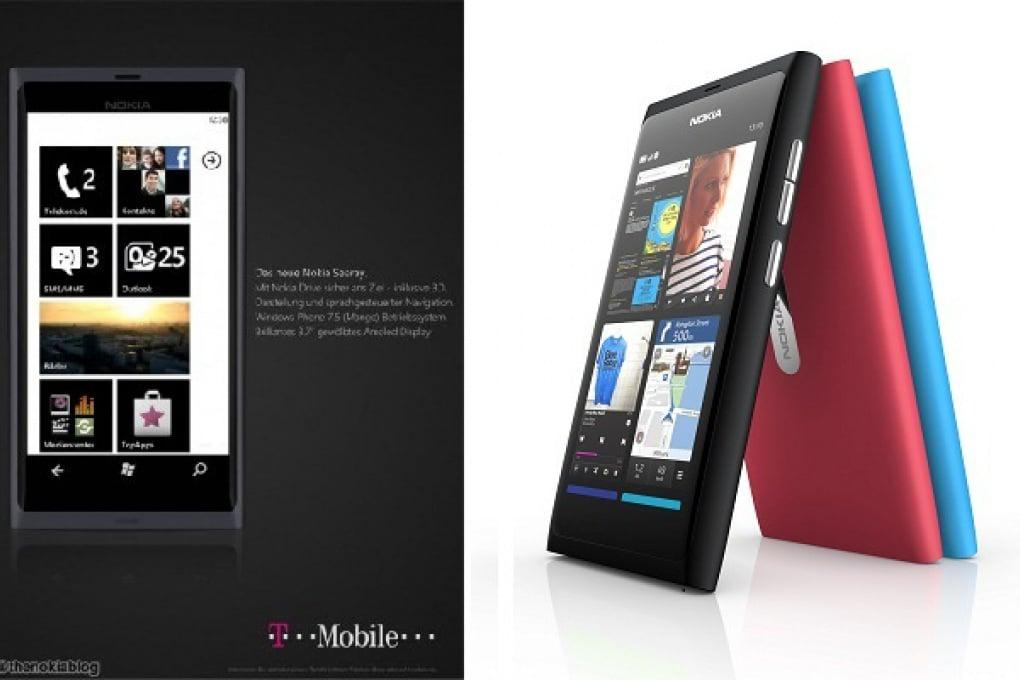 Nokia Sea Ray su un manifesto T-Mobile in Germania