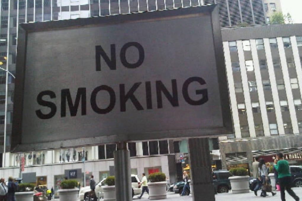 New York: vietato fumare anche all'aperto
