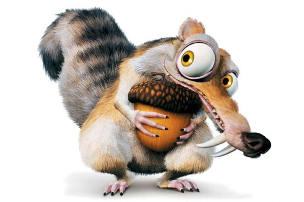 Lo scoiattolo dell'Era Glaciale esisteva davvero