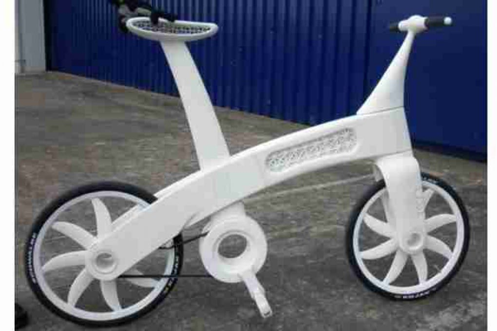 Arriva la bicicletta che si stampa