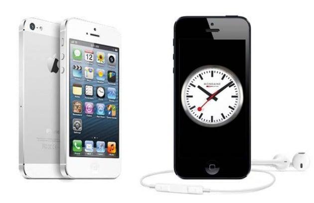 Apple e l'orologio delle ferrovie svizzere di iOS6