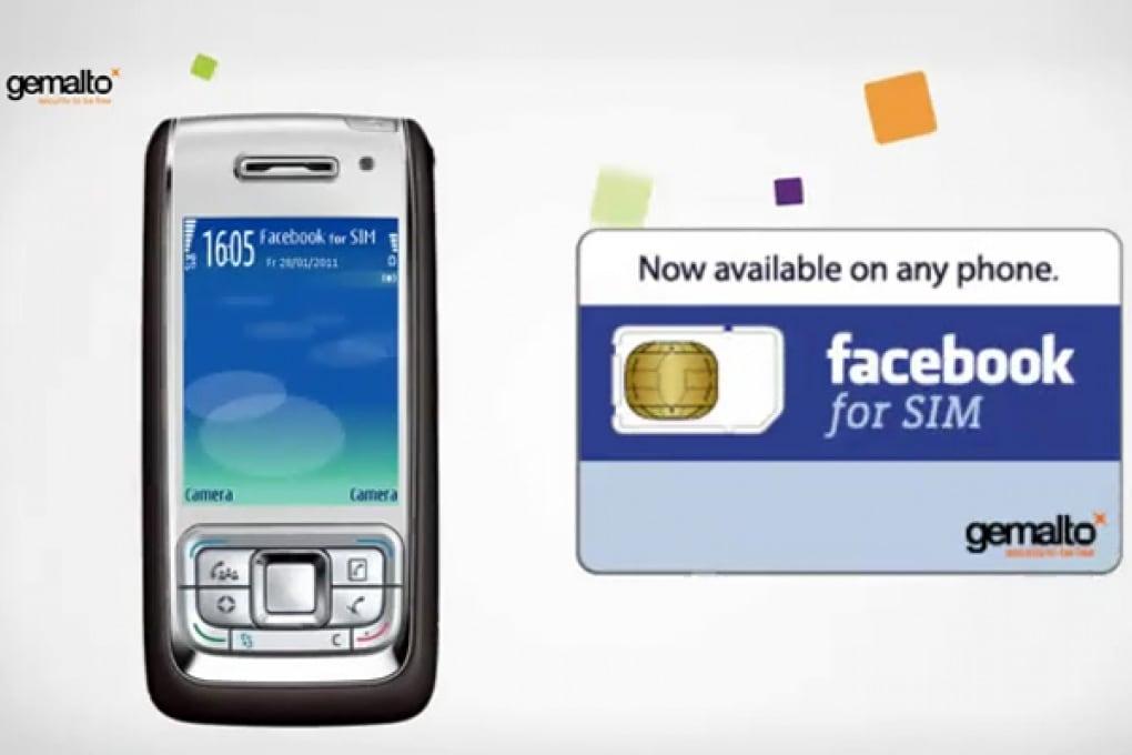 Arriva la sim card dedicata a Facebook