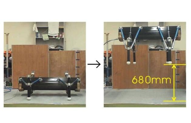 Il robot che salta come una cavalletta