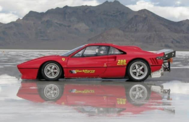 Una Ferrari da record: più di 440 km/h
