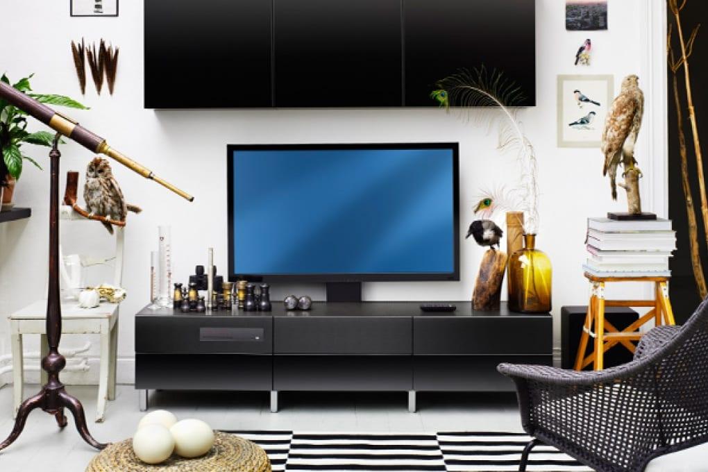 La TV dell'Ikea! No, non è uno scherzo!
