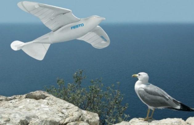 Il robot che vola come un uccello