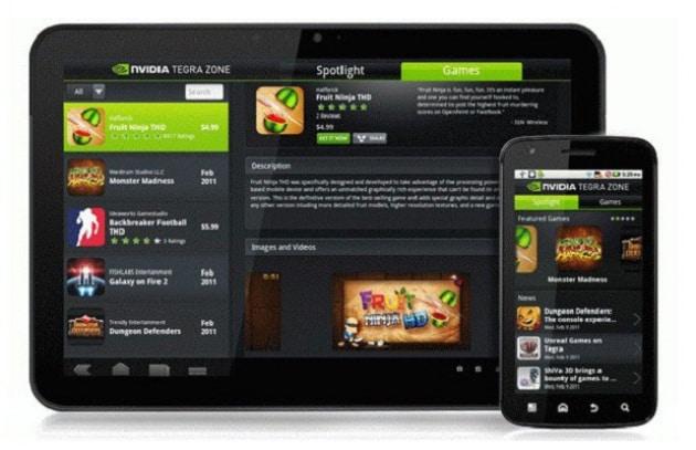 Tegra Zone: arriva la nuova area di Android Market