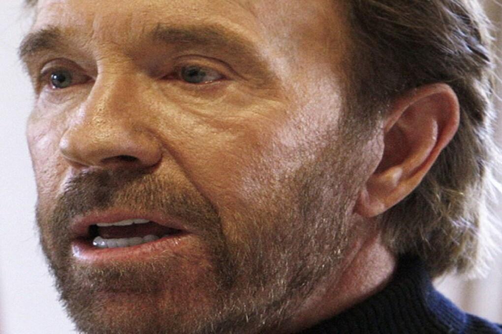 Chuck Norris Texas Ranger onorario