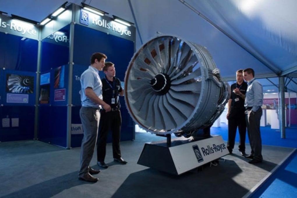 Un motore per Jet fatto con i mattoncini Lego
