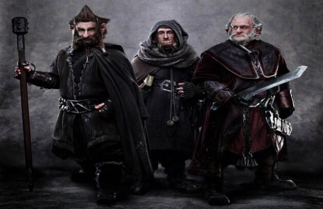 Lo Hobbit, arrivano le immagini dei nani