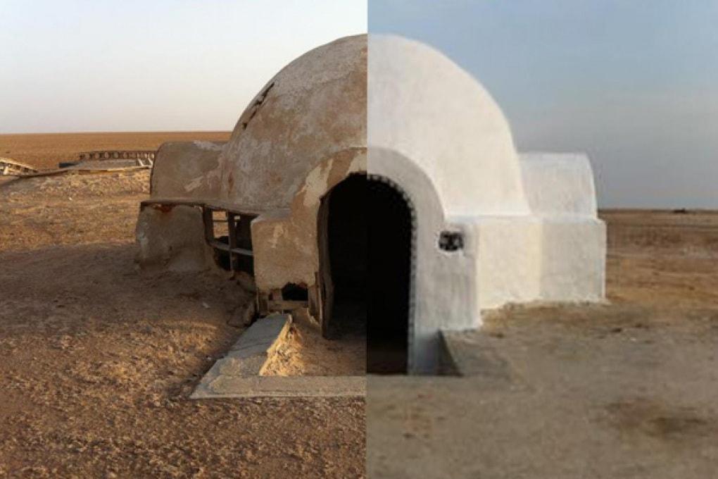 Restaurata la casa di Luke Skywalker in Star Wars