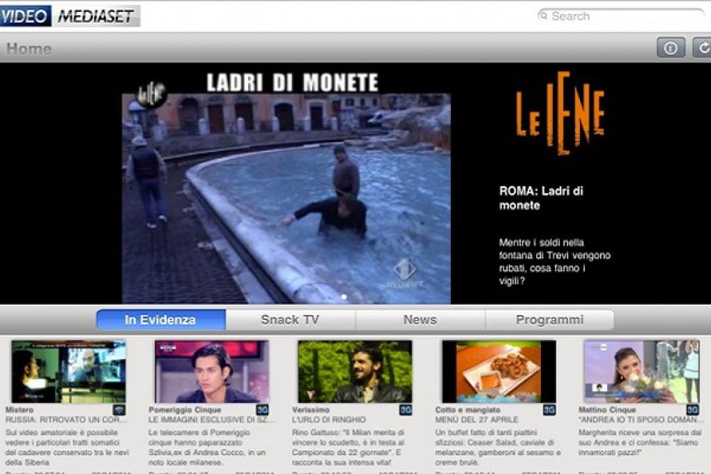 VideoMediaset porta i migliori programmi su iPhone