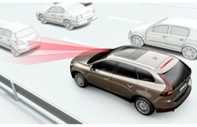 Volvo: con City Safety 27% in meno di incidenti