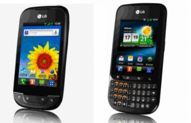 Due nuovoi modelli LG con l'ultima versione di Gingerbread