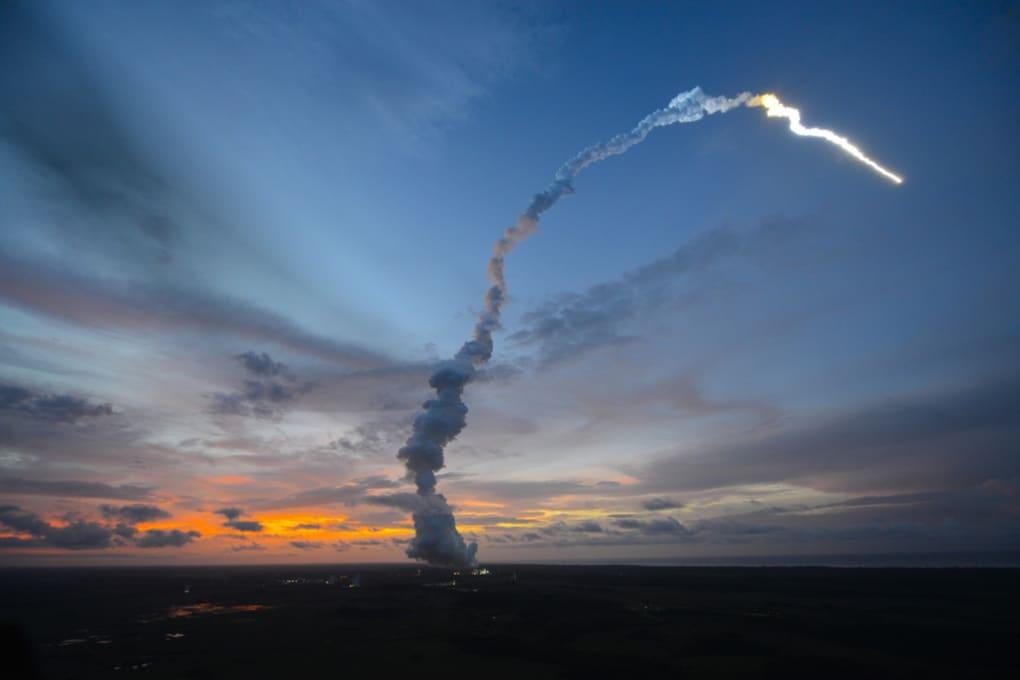 La navicella cargo Albert Einstein in rotta verso la ISS