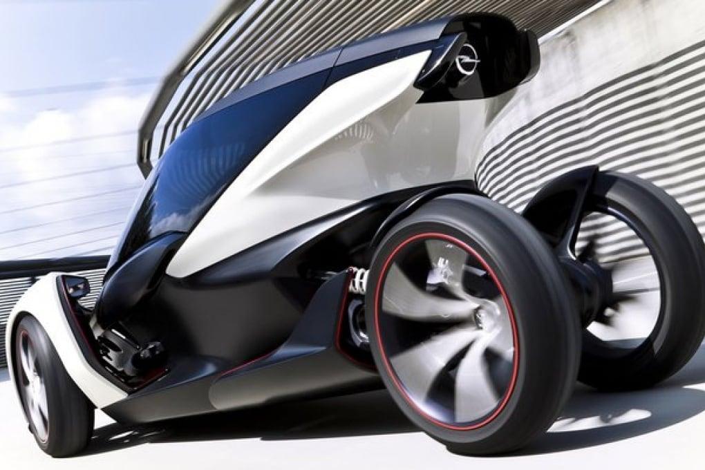 Il concept elettrico Opel: One Euro Car