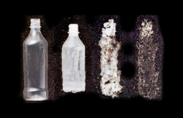 Ritornare al petrolio dalla plastica attraverso l'energia solare