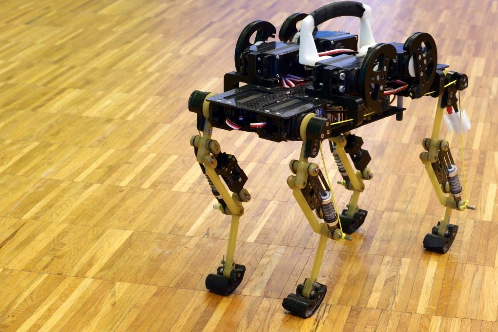 Il robot veloce e agile come un gatto