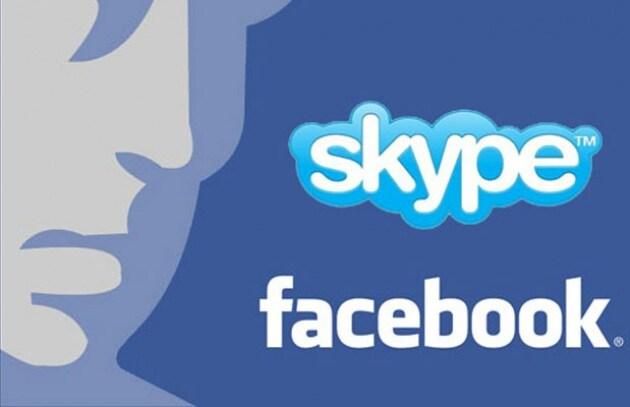 Storico accordo in vista tra Skype e Facebook