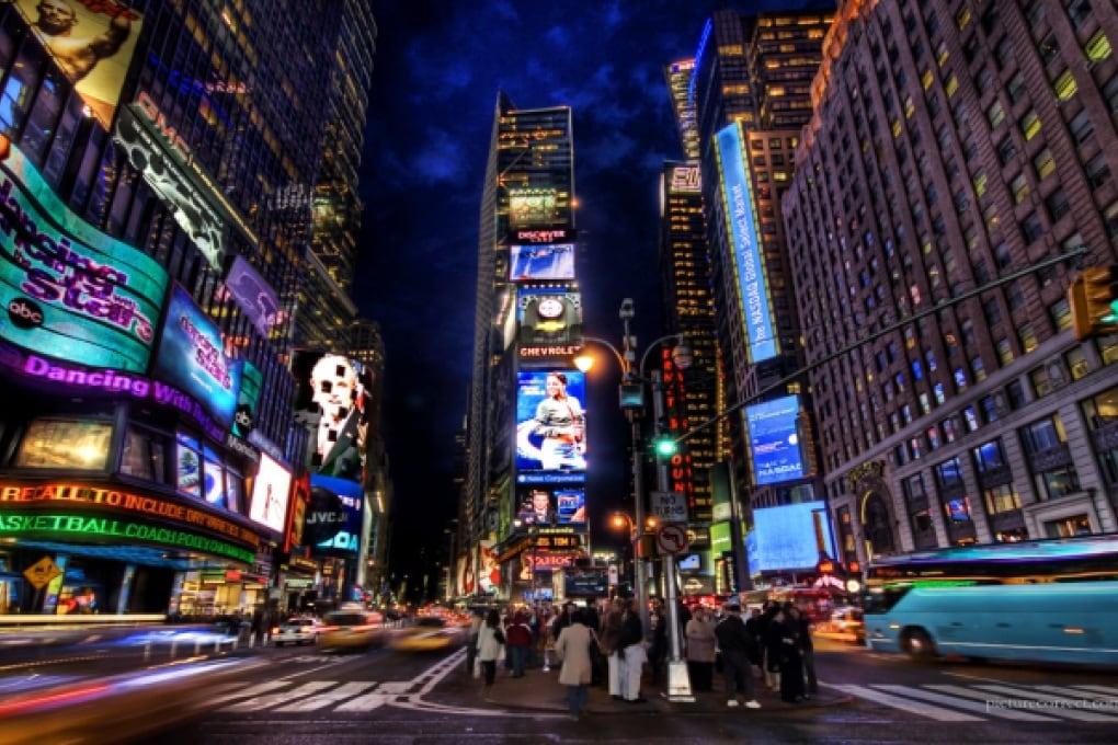 A Times Square arriva un fiume contro il riscaldamento globale