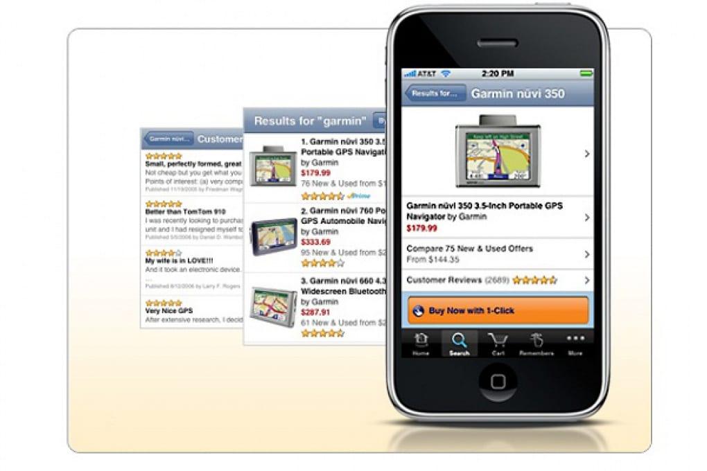 Amazon arriva sull'iPhone in tutto il suo splendore!