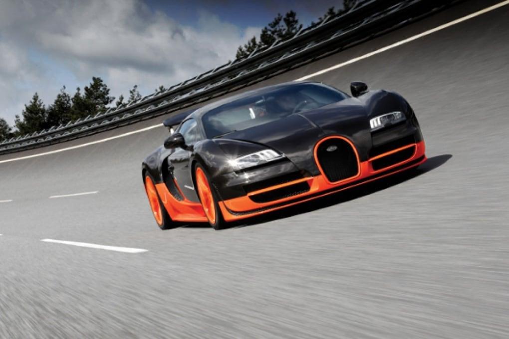 Bugatti Veyron Supersports: la più veloce