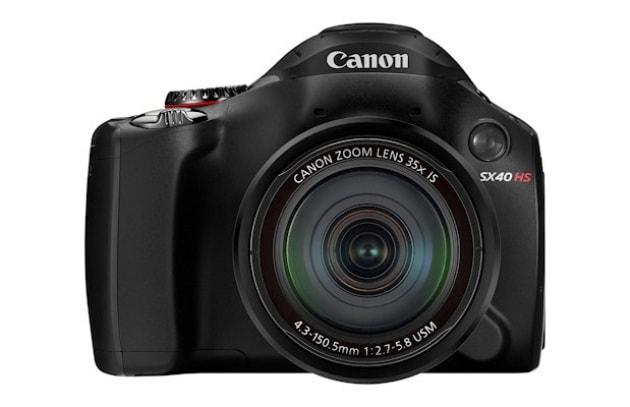 Canon PowerShot SX40 HS - 494 €