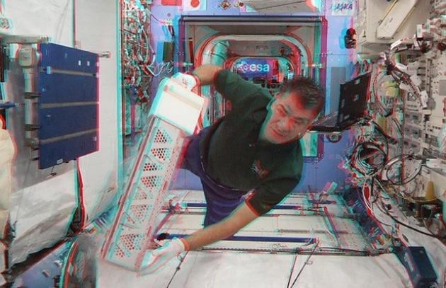 L'ESA batte la NASA e manda il 3D nello spazio