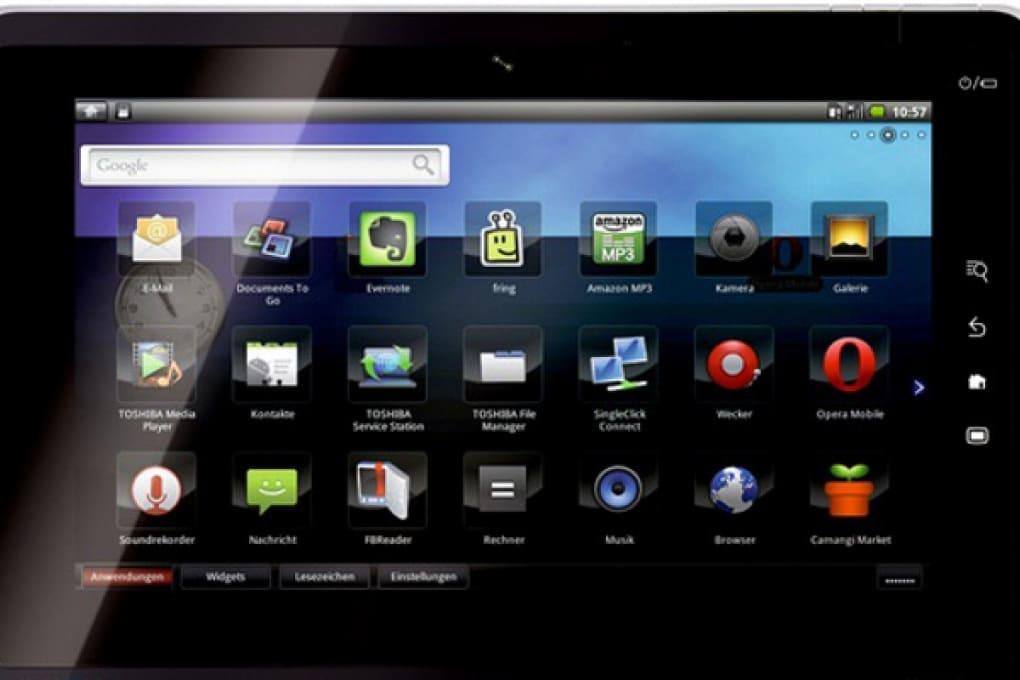 Toshiba sfida iPad con un Folio, il primo smartpad