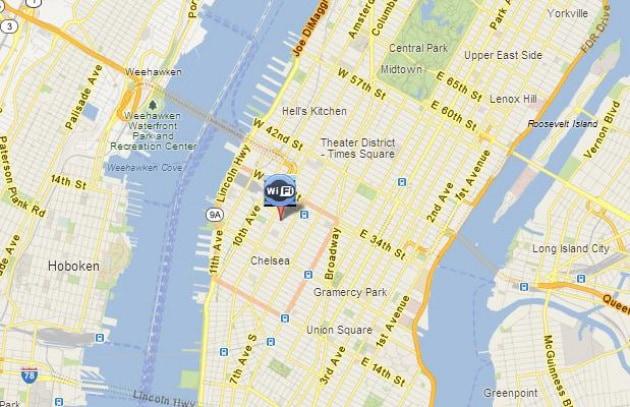 Google e il WiFi gratis a Chelsea (New York)