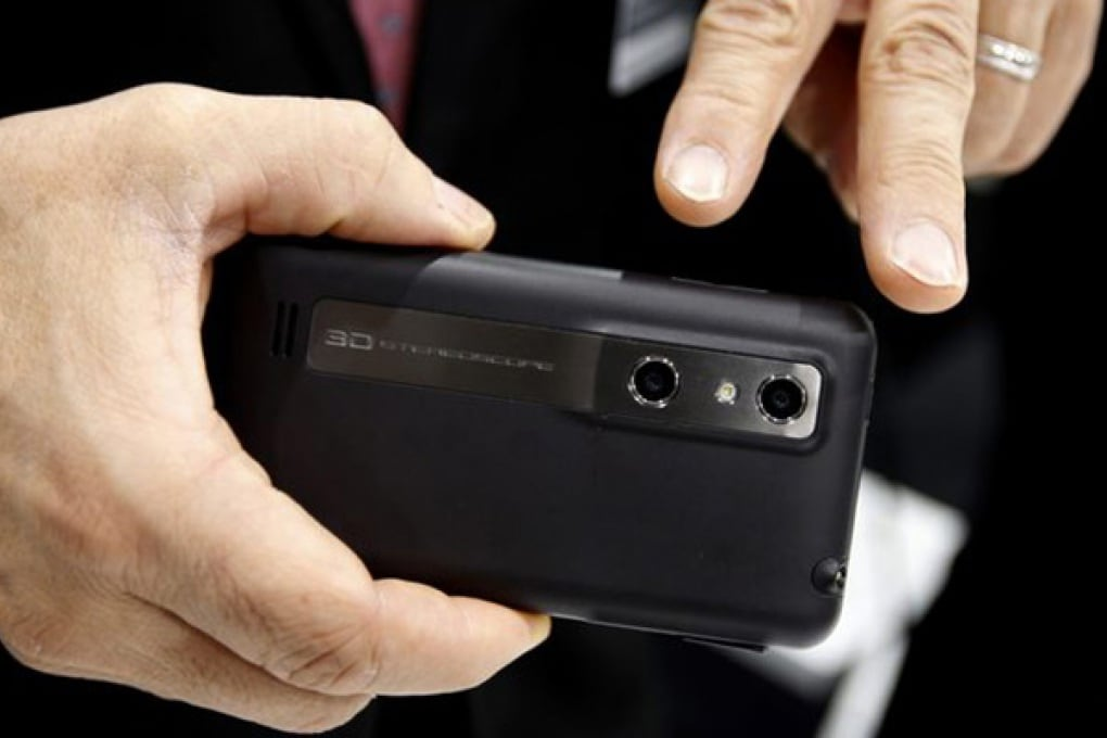 Lenti 3D per le fotocamere degli smartphone
