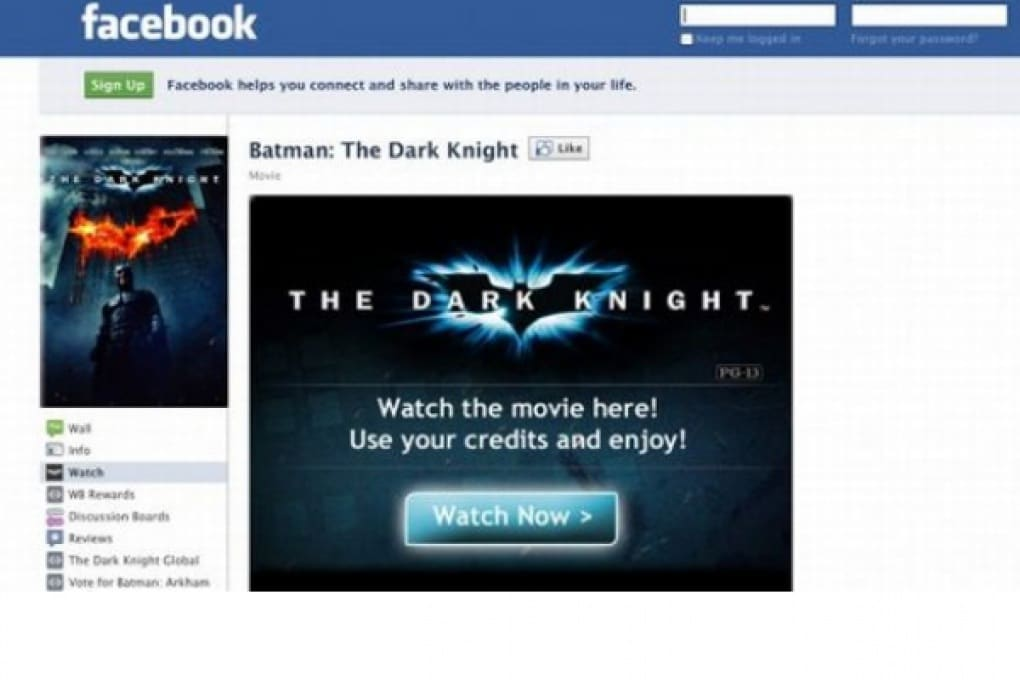 Ora i film si noleggiano su Facebook