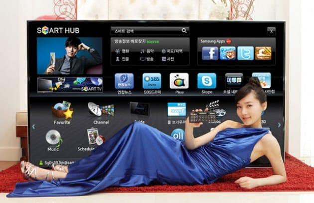 Tv Led 3D da 75 pollici di Samsung