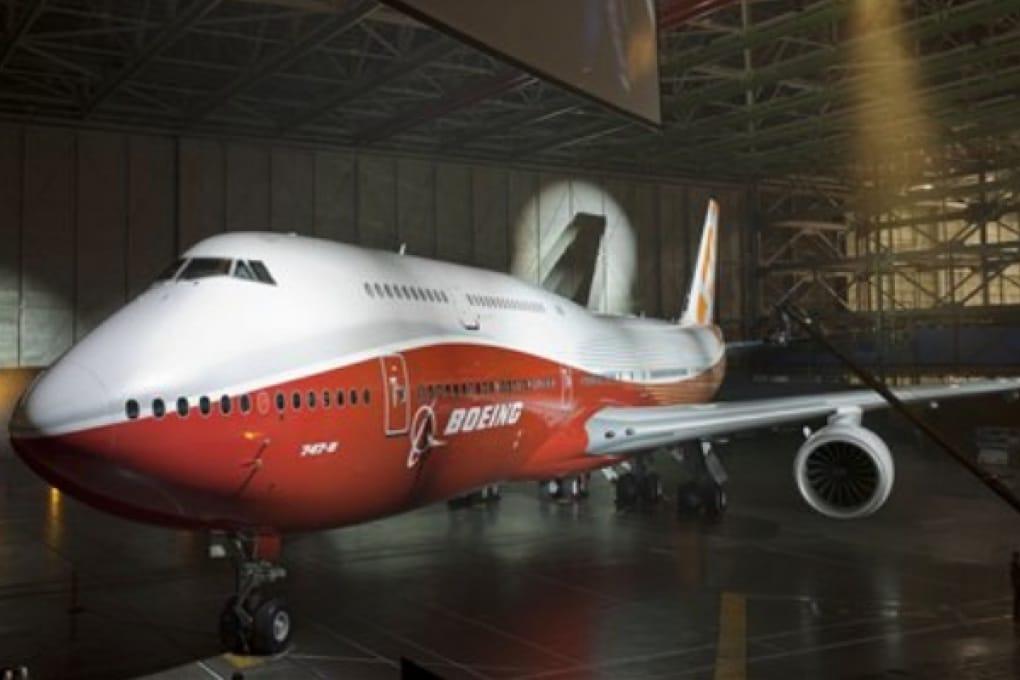 Il nuovo 747 di Boeing: più passeggeri a bordo