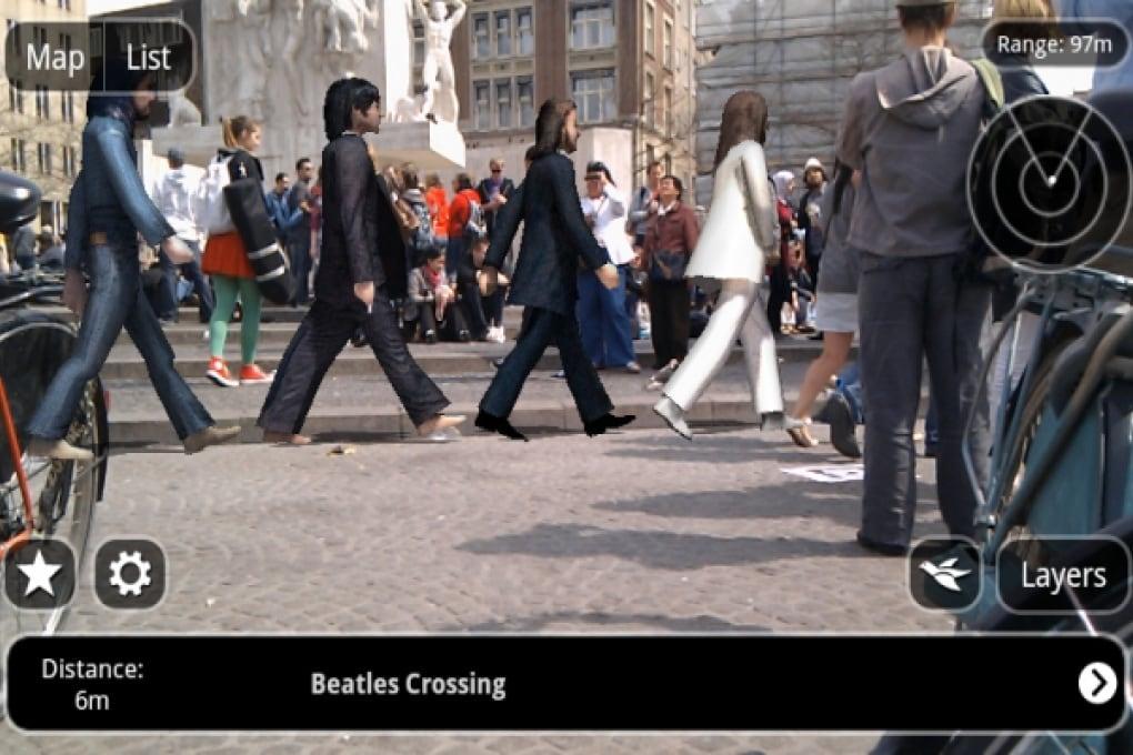 Amsterdam capitale del flash mob a realtà aumentata