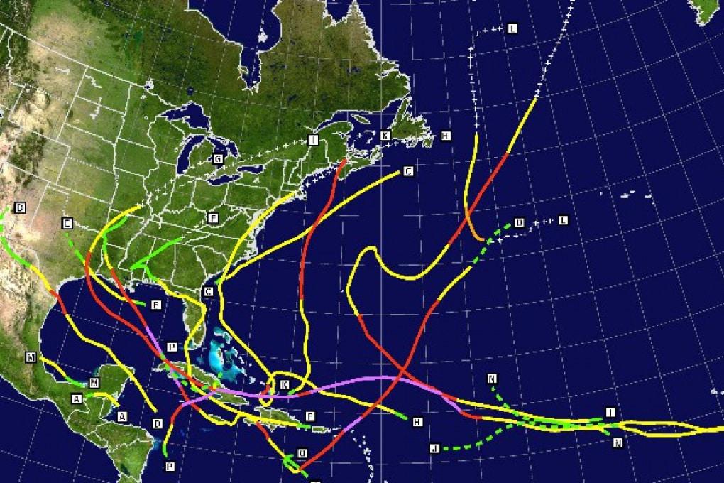 Ancora guai per il Golfo del Messico: arrivano gli uragani