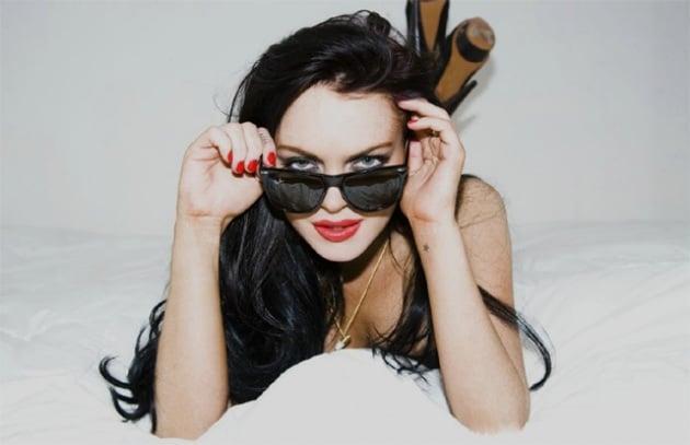 Il nuovo sito di Lindsay Lohan