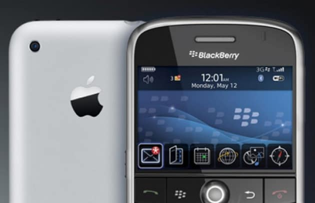 Brand War: iPhone batte Android e BlackBerry