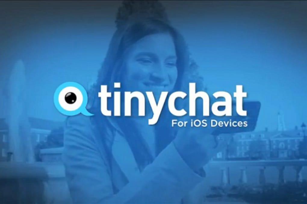 Videochat di gruppo su iPhone con Tinychat FB