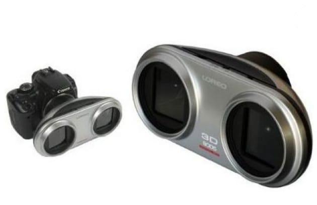 Aggiungi il 3D alle reflex Canon