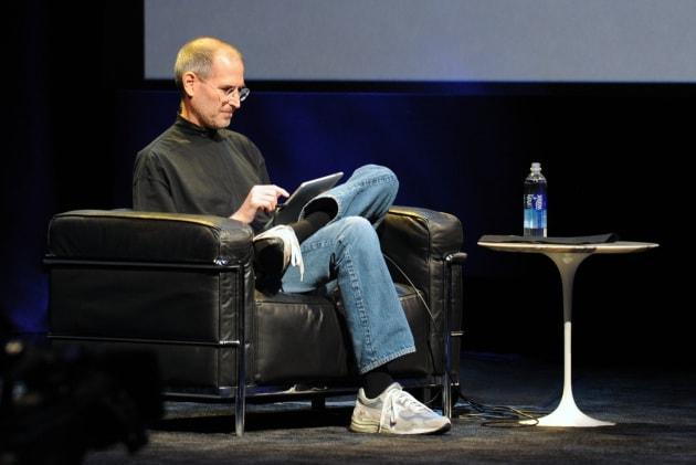 Steve Jobs al lavoro il giorno prima di morire