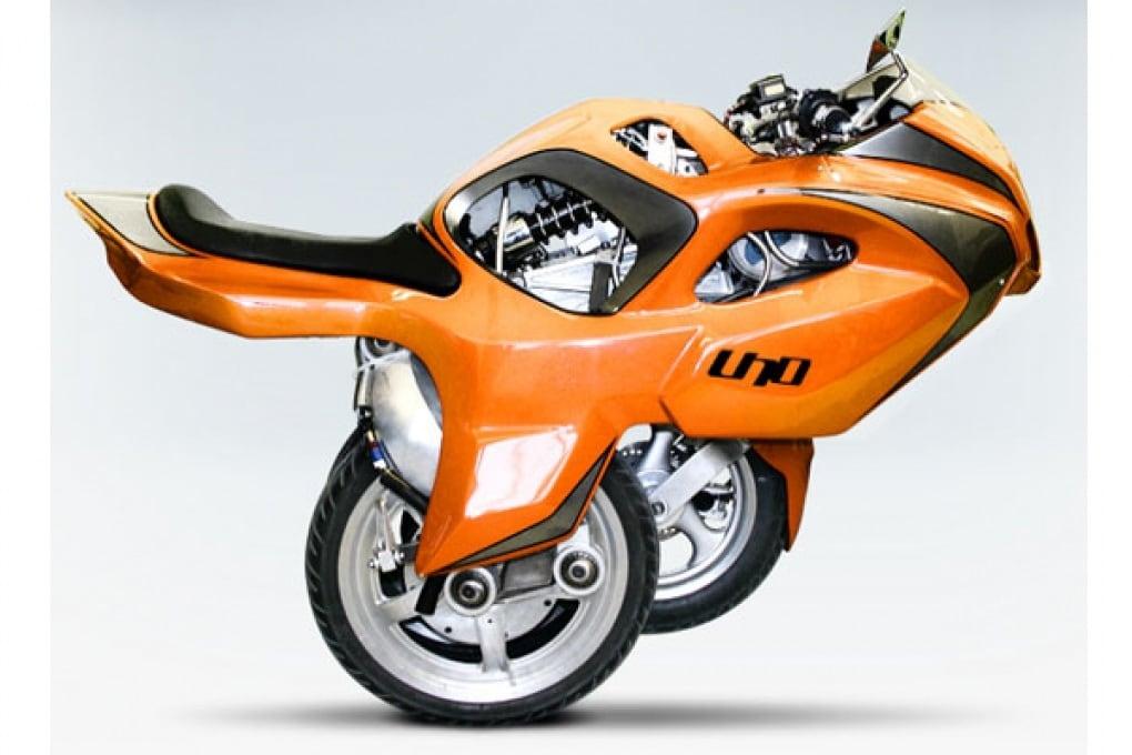Uno III: la moto a tre ruote diventa realtà