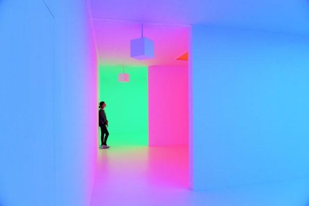 Light Show, la luce che modella lo spazio