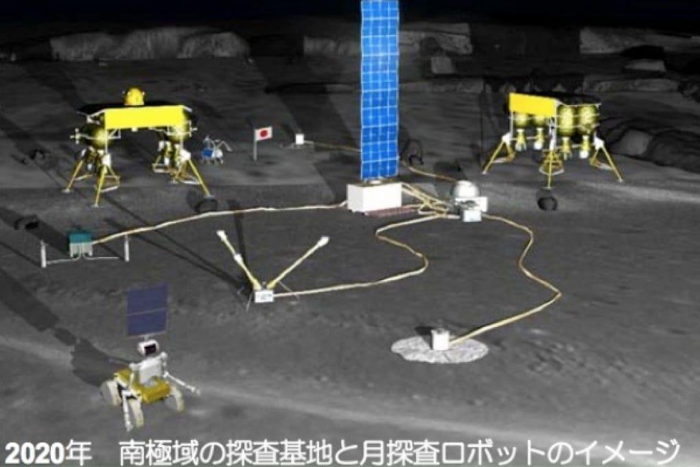 Entro il 2020: la base lunare dei robot giapponesi