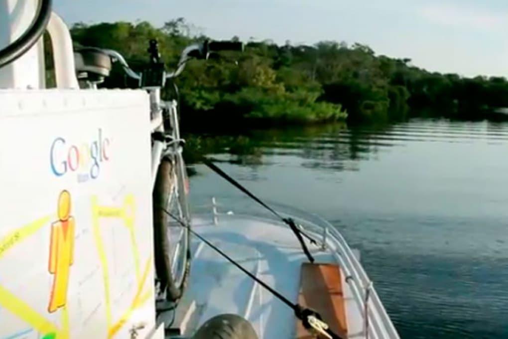 Google Street View fotografa l'Amazzonia