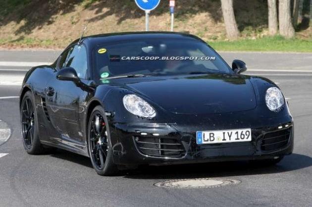 Le foto rubate della Porsche Cayman 2013