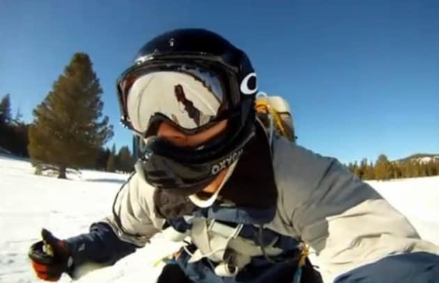 Un jet pack per sciare anche in pianura