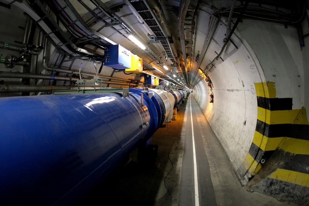 Lavori in corso all'LHC